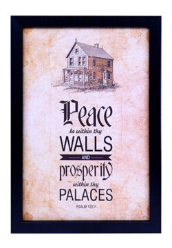 Peace Be Within Thy Walls