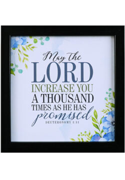 May The Lord Increase You a Thousand