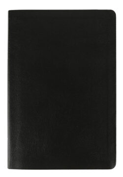 NIV Thinline Bible, Bonded Leather, Black, Red Letter Edition